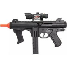 UKARMS AIRSOFT SPRING SMG RIFLE TACTICAL GUN w/ LASER SCOPE LED FLASHLIGHT BB