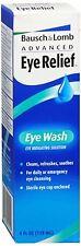 Bausch - Lomb Advanced Eye Relief Eye Wash 4 oz (Pack of 7)