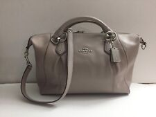 Authentic COACH 58410 Colette Leather Satchel Shoulder Bag Purse Handbag Gift