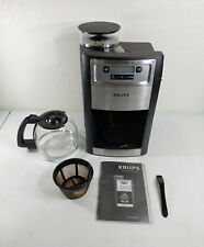 KRUPS KM785D50 Grind and Brew Auto-Start Maker with Built in Burr Coffee Grinder