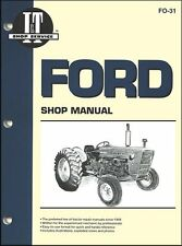 Ford Tractor Repair Manual New Holland 2000, 3000, 4000, 2100, 3100, 4100, 4110