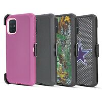 For Samsung Galaxy A71 5G Shockproof Hard Case Fits Otterbox Belt Clip Holster