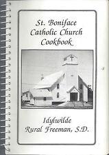 *FREEMAN SD VINTAGE *ST BONIFACE IDYLWILDE CATHOLIC CHURCH COOK BOOK *RECIPES