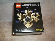 LEGO 21107 Minecraft The End Mirco World New in Sealed Box