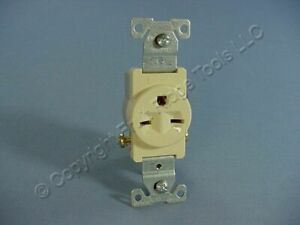 Cooper Ivory COMMERCIAL Straight Blade Single Outlet Receptacle 6-15R 15A 816V