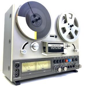 REALISTIC TR-3000 (TEAC X-3) 4 Track Reel To Reel Tape Record Vintage Good Look