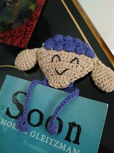 Handmade bookmark Sheep Crochet Bookmarks
