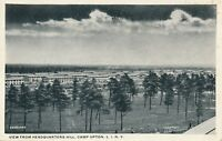 CAMP UPTON NY – View from Headquarters Hill – Long Island - 1918