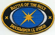 SAAB  Space: Above & Beyond Battle of the Belt Embroidered Patch