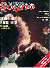 SOGNO N. 23 21 NOVEMBRE 1977 MARINA COFFA GIANFRANCO DE ANGELIS SIMONA PELEI