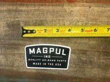 Magpul Ind Made In Usa Pmag Sticker/Decal Tactical Ar Ak Hunting Approx 4""