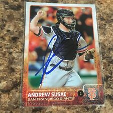 Andrew Susac 2015 Topps Autograph San Francisco Giants