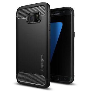 Custodia per Galaxy S7 Edge, Spigen, Rugged Armor Massima Protezione Da Cadute