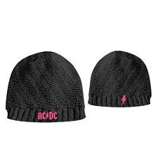 AC/DC - Logo - Girls Ribbed - gestickt - Beanie / Mütze - Neu