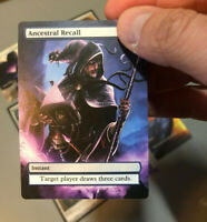 Power 9 Set Full Art Magic Cards for MtG Cube / EDH