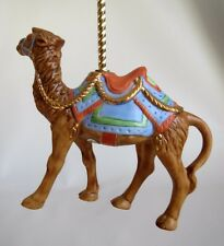 1989 Lenox Porcelain Camel Carousel Christmas Ornament ~ Beautiful