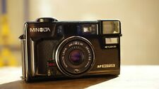 Minolta Hi-matic AF2-MD 35mm point and shoot camera