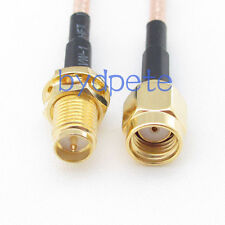 8inch RG316 RP-SMA male plug to RP-SMA female jack RF Pigtail Jumper Cable 20cm