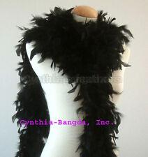 Black 65 Grams Chandelle Feather Boa   Dance Wedding Party Halloween Costume