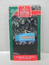 Christmas Sky Line Collection - Coal Car - 2nd - HALLMARK KEEPSAKE ORNAMENT-1992