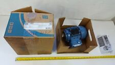 WEG Electric Motor 0.18kW 4P 63 3ph 220-240/380-415//440-460V 50Hz B14T IP55 New