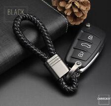 Schlüsselanhänger Lederband Keychain für FORD VW AUDI BMW MERCEDES JEEP HONDA