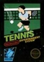 Tennis - Nintendo NES Game Authentic