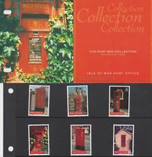 ISLE OF MAN Presentation Pack 1999 Post Box Collection Stamp Set 10% off 5+