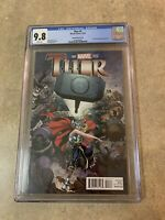 Thor #1 CGC 9.8 Art Adams Cover First Jane Foster As Thor