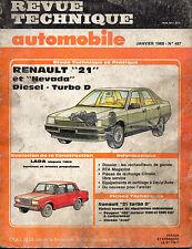 RTA revue technique automobile N° 487 RENAULT 21 R21 BERLINE ET NEVADA