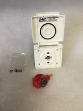 Bullfinch Gas Outlet/BBQ Outlet 6087 White Caravan/Motorhome *Surplus Stock*
