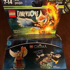 Lego dimensions CHIMA fun pack 71232 - ERIS & EAGLE INTERCEPTOR ! (NIB)