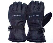 Carhartt Men's Waterproof Insulated Gloves A511 Black Size L