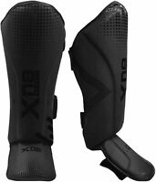 XN8 Shin Instep Guards Pads MMA Legs Foot Protection Training Kick Boxing Gym