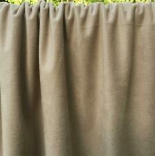 Camel Color Synthetic Suede Knit Fabric 61