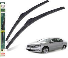 "VW Passat Saloon 2011-2014 replacement wiper blades HEYNER HYBRID 24""19""ST FRONT"