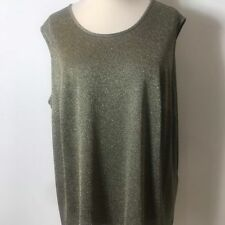 GIVENCHY Sparkly Gold Top Size Medium