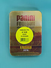 "Panini Fifa 365 Sticker ""2017"" Mini Tin Box leer ohne  Tüten"