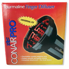 Conair PRO Tourmaline Finger Diffuser Universal Attachment - Fits Most Dryers