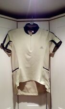 VINTAGE ADIDAS CYCLE JERSEY  SIZE - Large