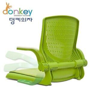 Ergonomic Dunky Folding Armrest Floor Chair Tatami Mediation Body Balance Seat