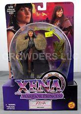 """Xena Warrior Princess Conqueror of Nations THE DEBT 6"""" Action Figure Toy Biz NiB"""