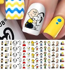 Peanuts Charlie Brown , Snoopy & Friends Nail Art Decals - Salon Quality!
