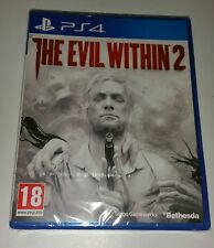 THE EVIL WITHIN 2 Inc DLC Fighting Chance PS4 New Sealed UK Sony PlayStation 4