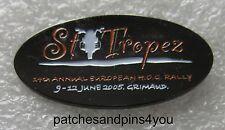 Harley Davidson 14th Annual European HOG Rally St.Tropez 2005 Pin. FREE UK P&P!