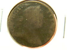 1773 GREAT BRITAIN 1/2 Half Penny - KM #601 - Copper Coin - KING GEORGE III - AG