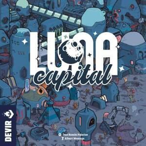 LUNA CAPITAL ENGLISCH - Spiel - Devir Games - OVP