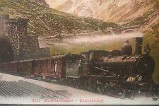 Gottardo Bahn-viaggiando-Carte Numero 2135!!!