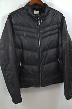 Diesel 'KEN' Leather Puffer Biker Jacket Size L  MSRP $728  SOLD OUT!!