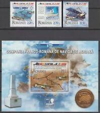 2020 - ROMANIA- AEROMFILA 2020 series + block
